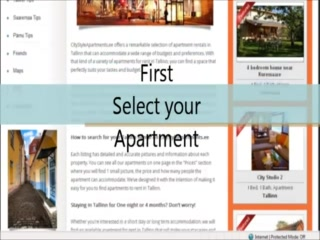 How to book an apartment with City Style Apartments