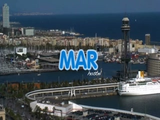 Be Mar  Barcelona Hostel: Be Mar Hostel Video