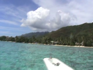 Hilton Moorea Lagoon Resort & Spa: Hilton Moorea from the water