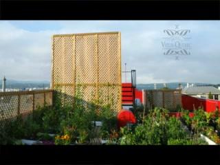 Hotel du Vieux-Quebec : timelapse of rooftop garden