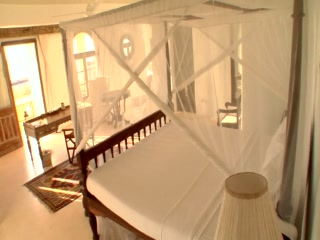 Junior Suite of the Majlis Hotel, Lamu - Kenya