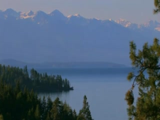 Kalispell, Μοντάνα: colorMontana.TV: color Flathead Lake