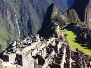 View around Machu Piccu