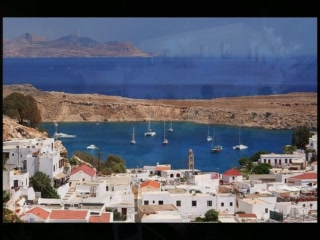 Lindos, Yunanistan: A Walk thru the Village