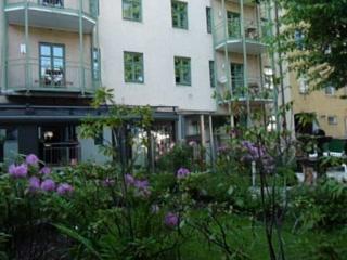 Maximilian Munich Apartments & Hotel: the garden