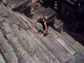 เสียมราฐ, กัมพูชา: CLICK TO WATCH - Yes, They Were THAT Steep!