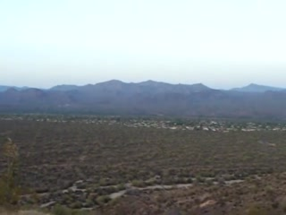 Fountain Hills, AZ: Panorama atop Lousley in the McDowell Park