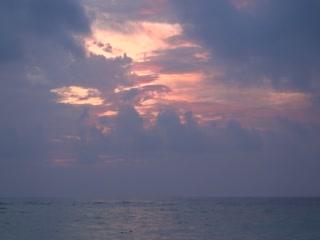 Sunrise in Punta Cana 2011
