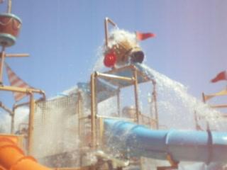 Coral Sea Aqua Club Resort: kids splash area