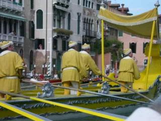 อิตาลี: regatta storica op het canal grande