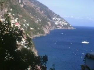 Hotel Poseidon: View to Positano
