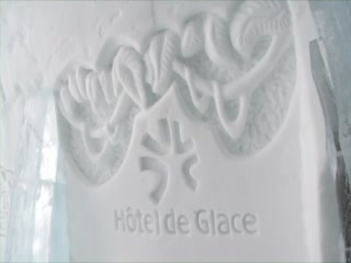 The Hôtel de Glace, Quebec