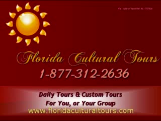 Let Florida Cultural Tours Show You Florida Most Tourists Don't See