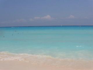 Sandos Playacar Beach Resort : Beautiful Sandos beach