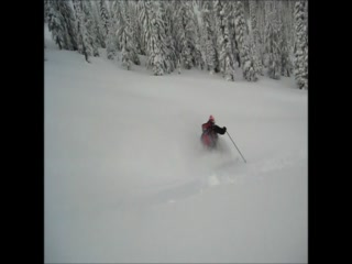 Snowcat Skiing Idaho in Early January