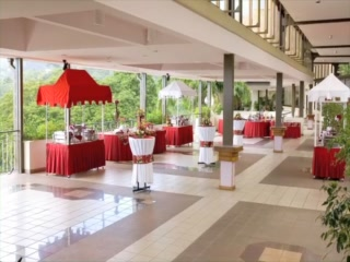 Hilton Pool Terrace Restaurant: Welcome to Hilton Trinidad and Conference Centre