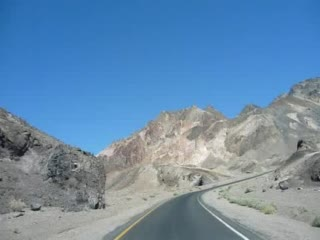 Death Valley National Park, CA: Artist Drive