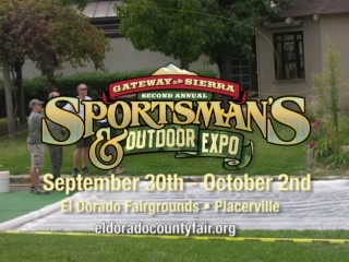 Placerville, Californië: 2011 Gateway to the Sierra Sportsman & Outdoor Expo