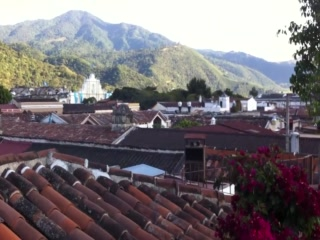 Hotel Meson de Maria: The hotel courtyards and roofdeck