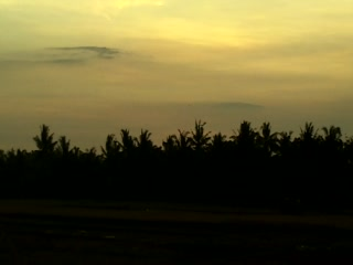 Sunset at Tegal Sari