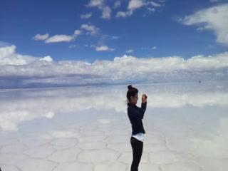 Uyuni, โบลิเวีย: Video of mirrored Salt Flats