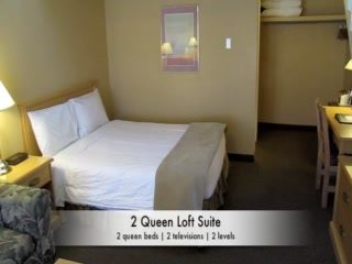 Kelowna Inn & Suites: 2 queen loft suite