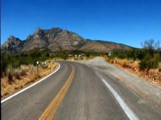 A Drive up Cave Creek Canyon