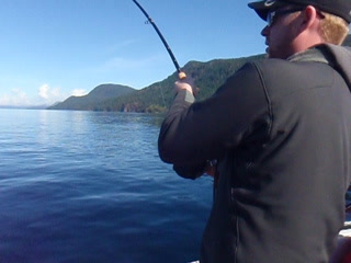 Nanaimo, Canada: Great Day Salmon Fishing