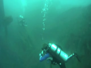 USS New York Wreck Dive (Feb. 2012)