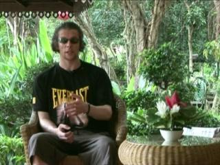 Tao Garden Health Spa & Resort: Special case: Ricky lee Martin