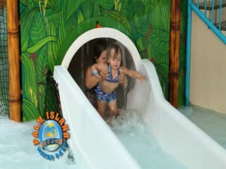 Batavia, Nova York: Palm Island Indoor Waterpark