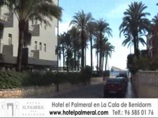 Hotel el Palmeral esta a sólo 30 metros de la playa