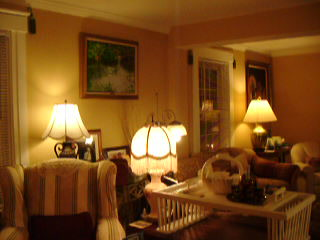 White Swan Bed and Breakfast: Our common area