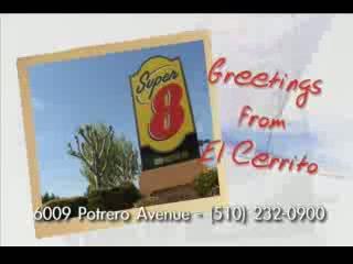 Hotel Mira Vista : video of the Super8 Hotel Berkeley El Cerrito