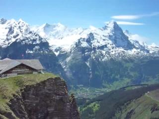 Grindelwald, Schweiz: View from First
