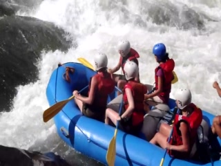 Rafting at Hamadryade Lodge