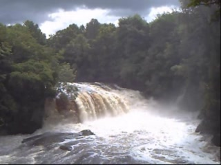Lanark, UK: Falls of Clyde