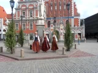 Riga Town Hall Square: Buskers Riga Main Square