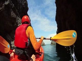 Sea Kayaking with West Cornwall Adventure