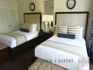 Southernmost Beach Resort : Partial Oceanview 2 Queens