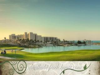 Hyatt Capital Gate: Abu Dhabi, the ideal destination