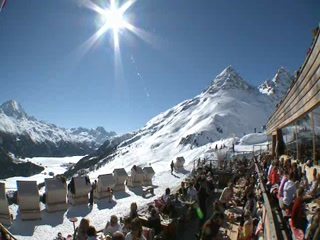 Engadin St. Moritz, Schweiz: St. Moritz in winter