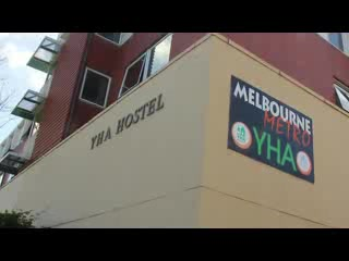 Melbourne Metro YHA Backpackers Hostel in North Melbourne