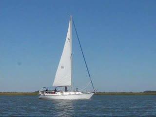 Compass Sailing, LLC: S/V Zingara sailing near Wassaw Sound