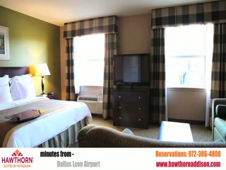 Hawthorn Suites by Wyndham Addison Galleria: Hotel Video Tour