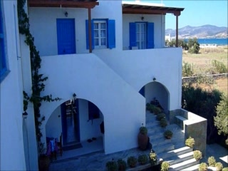 Welcome to Remvi studios in Pounta, Paros-best kite spot.