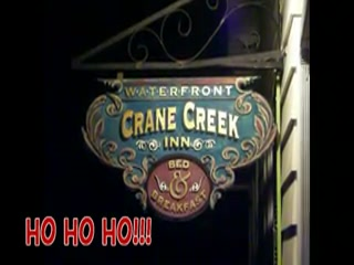 Crane Creek Inn Waterfront Bed and Breakfast: Crane Creek B&B Holiday Light Show