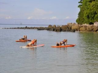 Cherngtalay, Tailandia: Skyla's SUP Yoga - Phuket / Stand Up Paddle