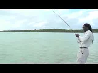 Bonefishing at Small Hope Bay Lodge, Andros, Bahamas