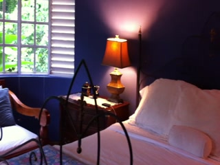 The Blue House Boutique Bed & Breakfast: The Upper Room - Bedroom